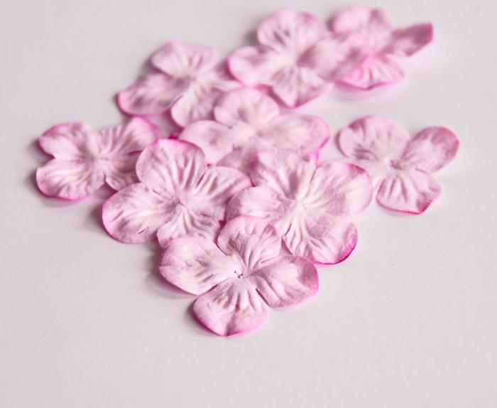 30 פרחים -גרוטנזיה קטנה -ורוד בהיר
