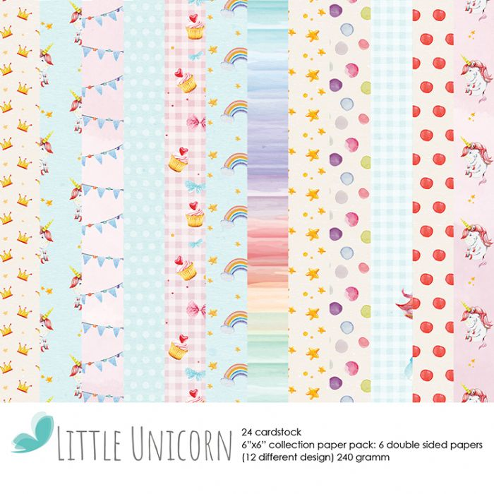 6x6 - Little Unicorn