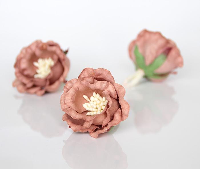 ורד יפני מוקה 4 פרחים