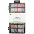 צבעי מיים מטלים - 28 צבעיים