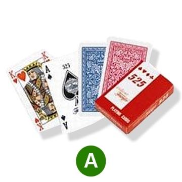 אזל במלאי, קלפים 525 פורניר למשחקי ברידג'