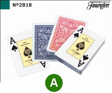 קלפים פורניר 2818 פוקר טקסס הולדם איכותי