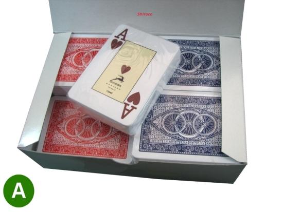 קלפים אופניים | קלפי מודיאנו פלסטיק | קלפים  לפוקר טקסס הולדם |