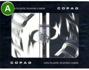 קלפים פלסטיק קופג PEACE COPAG