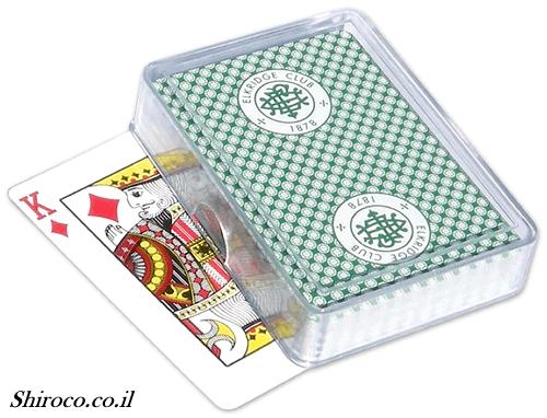 מארז פרספקס לקלפים