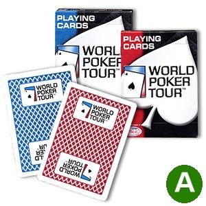 קלפים BEE WPT איכותי לטורניר פוקר