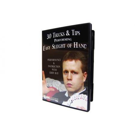 ערכת קסמים ל 30 טריקים מלווים DVD