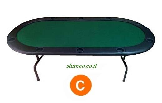 """אזל, שולחן פוקר 2.10 """"ספורט"""""""