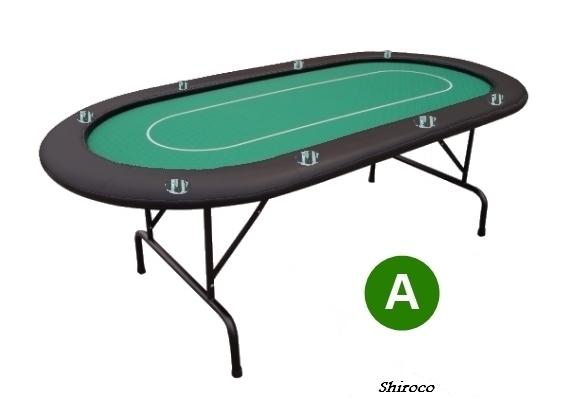 אזל במלאי, שולחן 1.80 קלפים 8 דוחה נוזלים