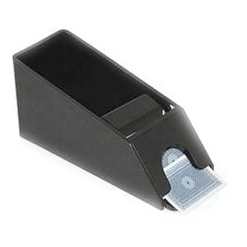 נעל קלפים שחורה לשולחן פוקר דילר בלק גק