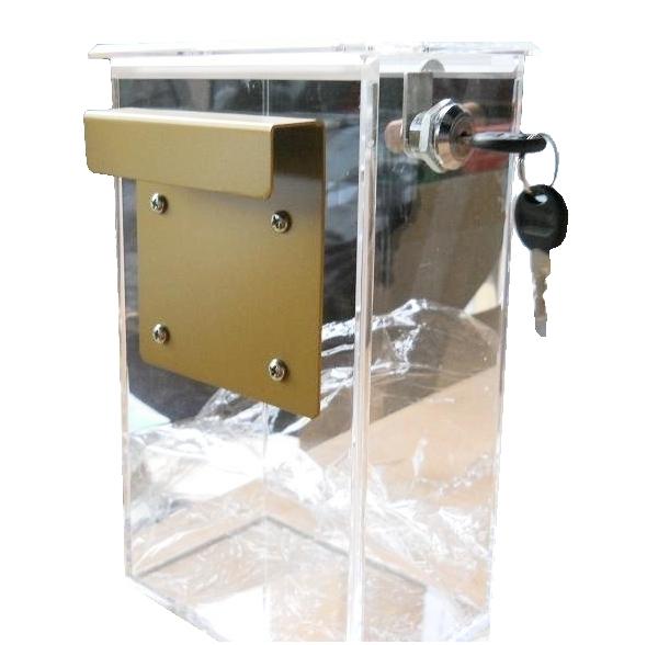 קופסת פרספקס לגנייה עם נעילה