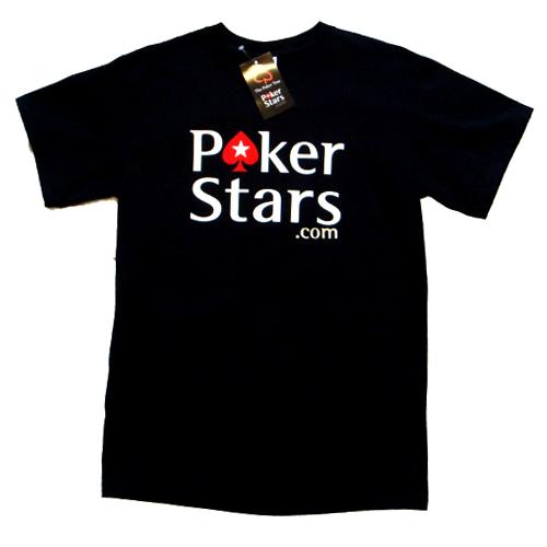 אזל במלאי, חולצת T פוקר מבית POKER STARS