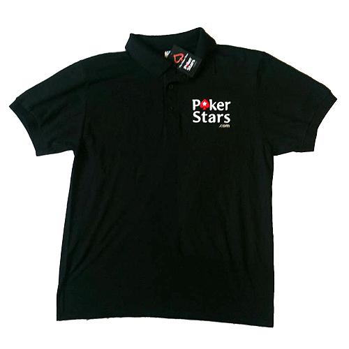 אזל, חולצת פולו לפוקר מבית POKER STARS