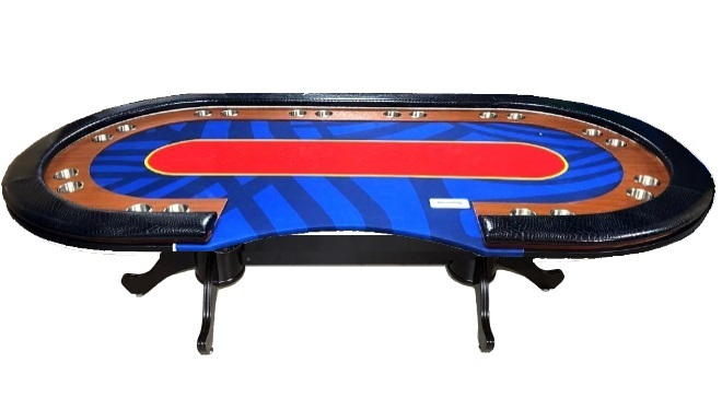 """שולחן פוקר """"סיזר"""" 2.40 מפואר"""