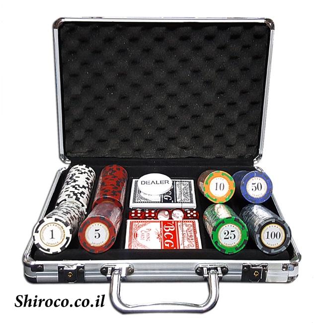 מזוודה 200 11.5 גרם spin poker