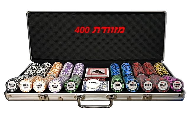 מזוודה 400 חימר IPT 14 גרם