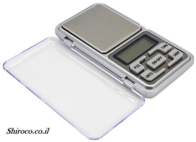 משקל דיגיטלי אישי נייד עד 200 ג'ר