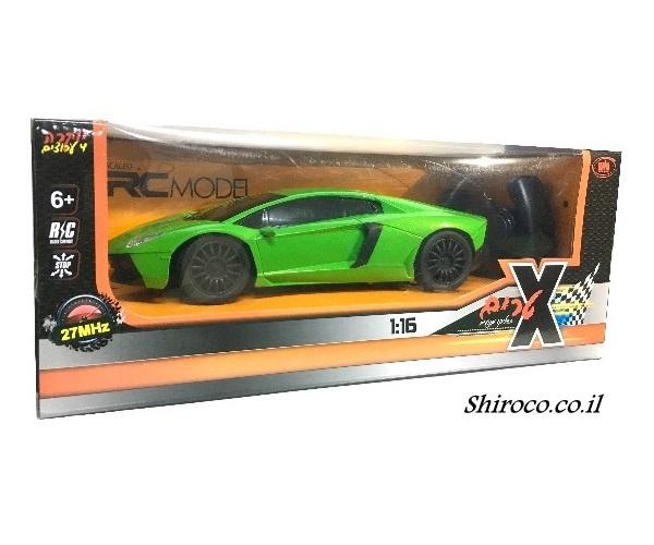 אזל במלאי, מכונית שלט מרוץ 1:16 ירוקה