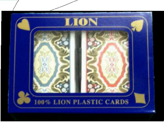 קלפים מודיאנו למשחקי רמי ברידג' איכותי