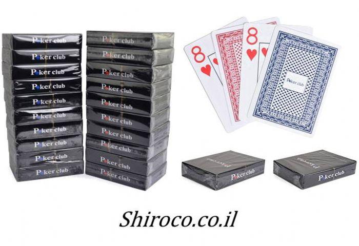 קלפים 100% פלסטיק Poker Stars (לזוג)