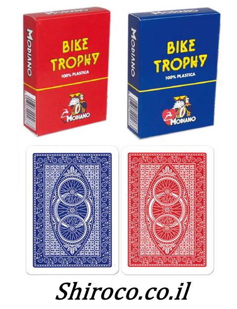 קלפים אופניים מודיאנו פלסטיק לפוקר