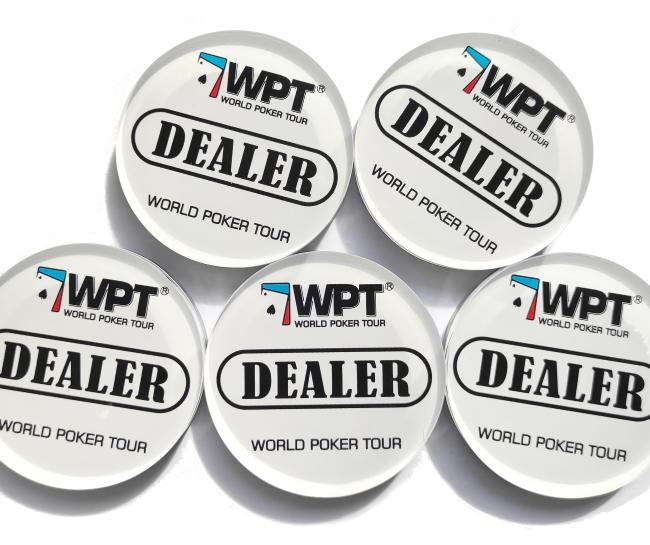 כפתור דילר WPT לפוקר