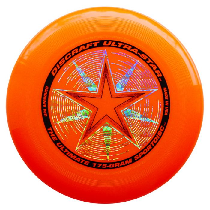פריסבי כתום - Discraft UltraStar 175g