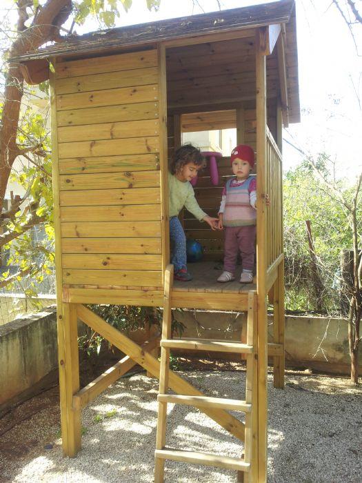 סנסציוני miniatura - בית עץ לילדים TW-57