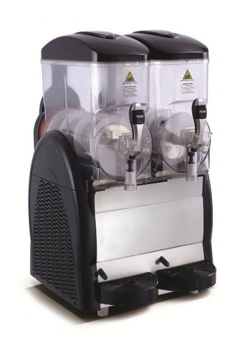 מכונת ברד 2 ראשים צבע שחור