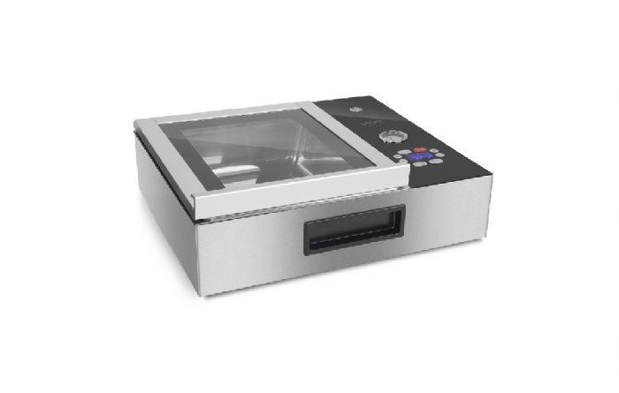 מכונת ואקום קומפקטית ומקצועית עם תא ואקום CASO VacuChef Slim-Line
