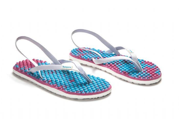 bumpers sandals // ורוד בוטיק