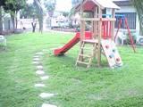 פינת משחק במדשאה