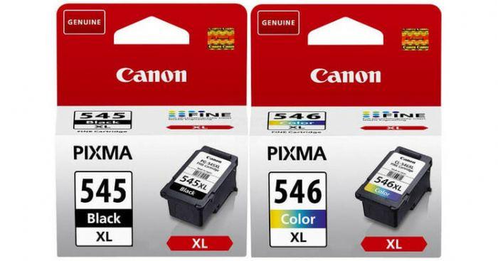 CANON PG545XL + CL546XL זוג מקורי XL