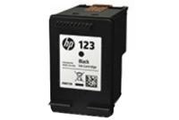 ראש דיו שחור מקורי  HP 123 F6V17AE