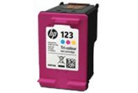 ראש דיו צבעוני מקורי HP 123 F6V16AE