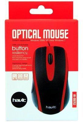 עכבר חוטי אופטי HV-MS753