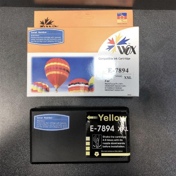 ראש דיו צהוב תואם Epson T7894 אפסון