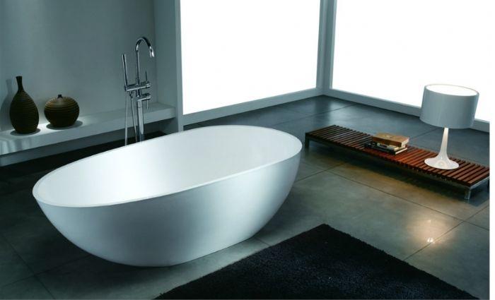"""אמבטיה f s  אבן דמוי CORIAN עומדת דגם ka מידות-180-80 ס""""מ.אספקה מיידית-"""