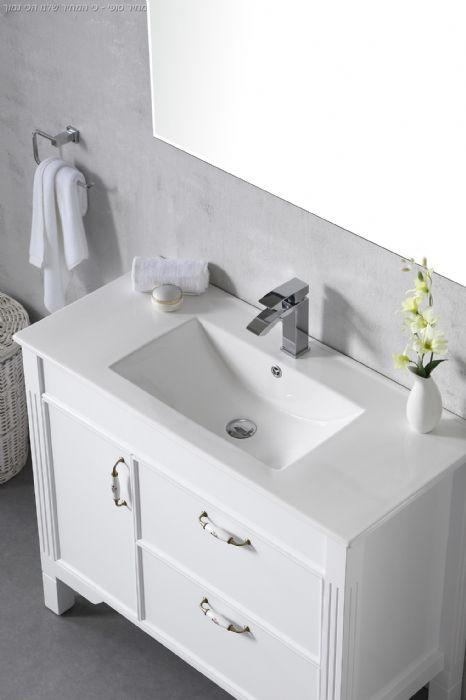 ארון אמבט כפרי דגם רום. יבוא HB אמבט חלומי .אספקה מיידית
