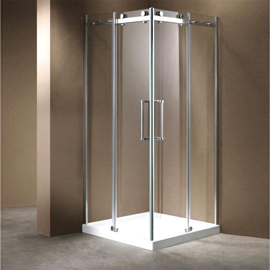 חדש הזזה ללא מסילה תחתונה. מקלחון נוביליטי-דגם k-m2 קולקציה 2018 יבוא HB-אמבט חלומי.