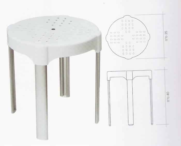 כסא למקלחון נייד