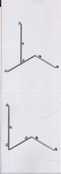 ידיות לבעלי מוגבלות במקלחת.-תוצרת גרמניה.