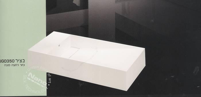 """כיור מונח דגם בציר 350-מידות 74-36 ס""""מניתן לקבל גם בגודל של-41-23 ס""""מ קטן"""
