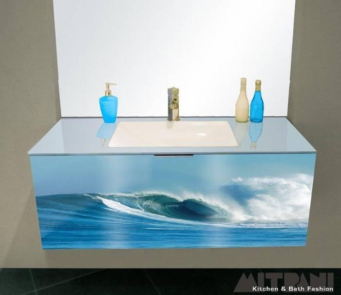 חיפוי זכוכית חזית ארון אמבט דוגמא-24