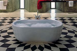 אמבטיות תוצרת kaldewei גרמניה-דגם מגה דו אובל 30 שנה אחריות.