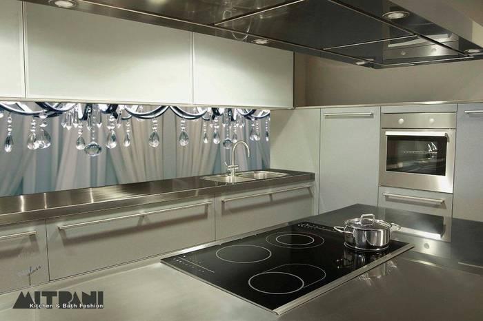 חיפוי זכוכית למטבח דוגמא קריסטלים.