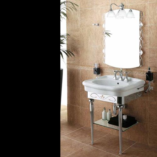 סט כיור לאמבט סגנון ענתיק סדרת-prisma איטליה.