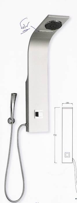 מוט פינוק הכולל יציאת מפל נוסף לראש מקלחת גדול-דגם-090