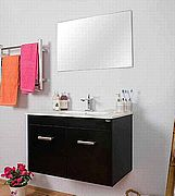 """ארון אמבט דגם איה +כיור ישר 60 ס""""מ ניתן לקבל עומד או  תלוי-ובגדלים נוספים."""