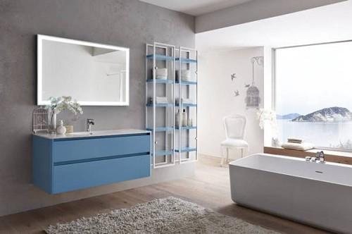 """חדש..ארון אמבטיה דגם בוסטון- מידה 120 ס""""מ.ניתן לקבל בגדלים נוספים ובמבחר צבעים."""